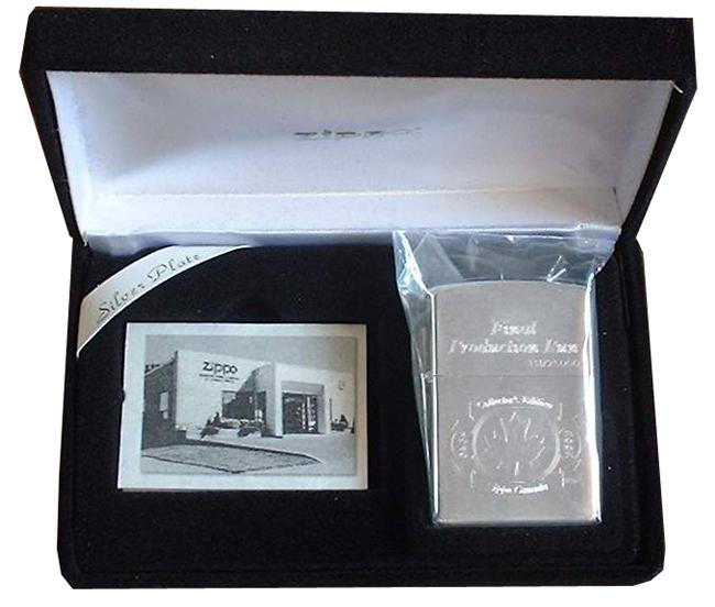 Bat lua zippo ma bac - Zippo Canada collectible 2002 final ntz819 3