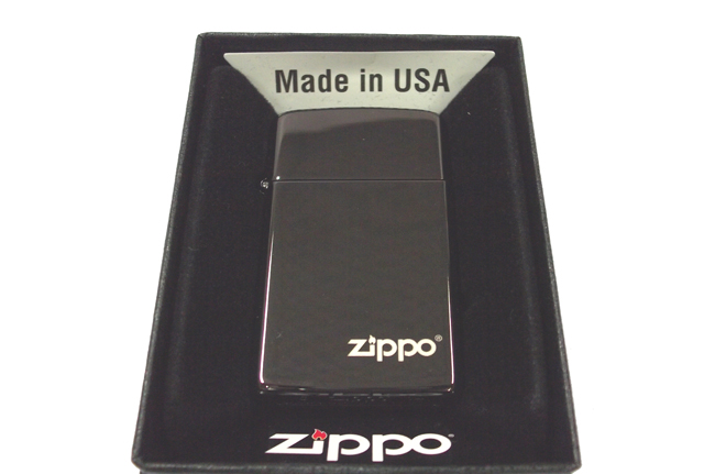 Hop quet Zippo mini Ebony logo ntz922