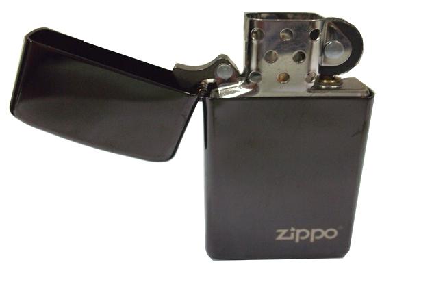 Hop quet Zippo mini Ebony logo ntz922 2