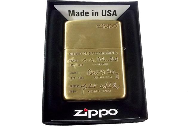 Hop quet Zippo khac sau 2 mat hinh lich su Zippo doi  XIII (1997) ntz953