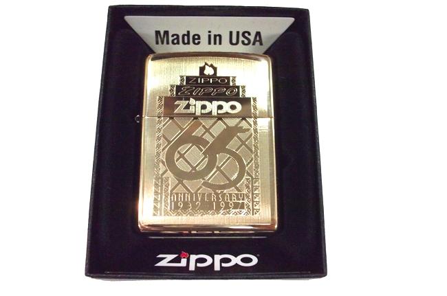 Bat lua zippo usa vang bong khac 1 mat hinh 65th zippo NTZ419