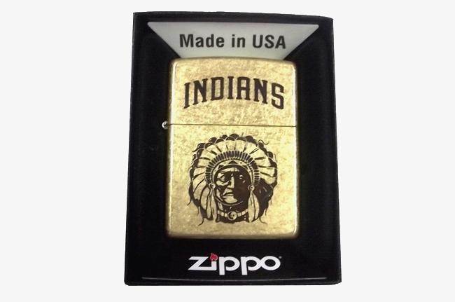Zippo khac mon axit 2 mat hinh tho dan Indians ntz937