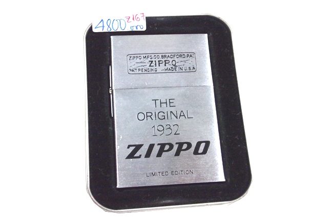 Hop quet zippo The Original 1932 Limited Edition san xuat nam 1997 ntz688