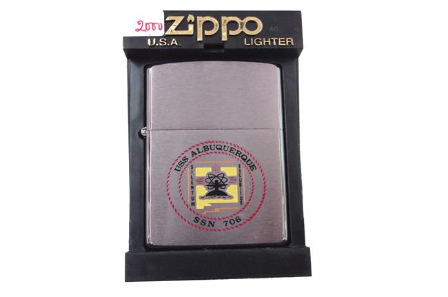 Hop quet zippo USS la ma doi XVI nam 2000 ntz680