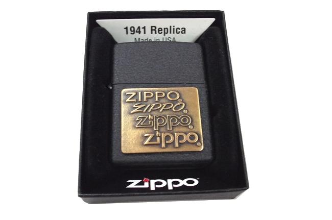 Zippo den san logo zippo dong ntz352