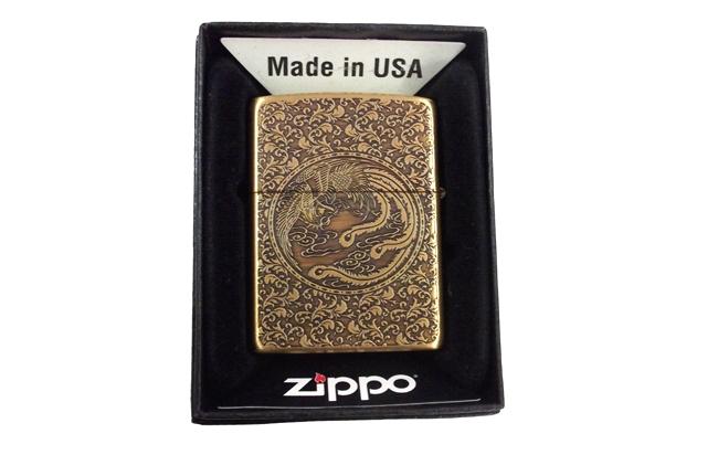 Zippo xuat nhat 2 mat hinh rong phuong ntz506 2