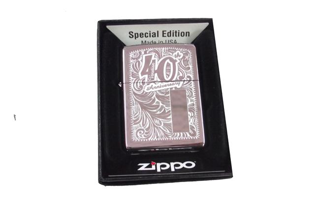 Zippo 40th anniversary Venetian ntz507