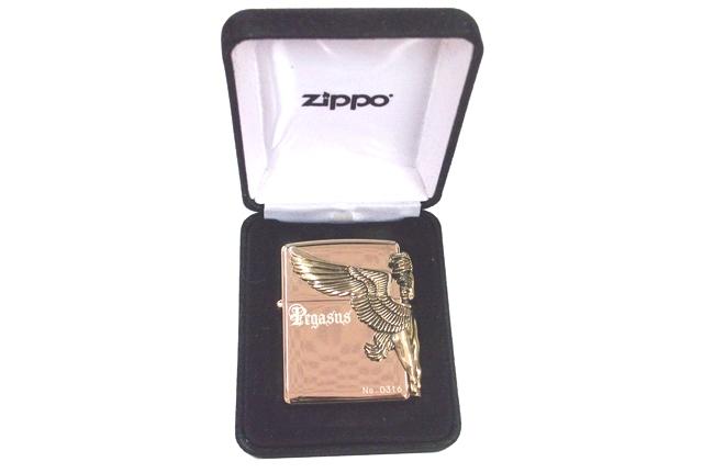 Zippo xuat nhat hinh than ma Pegasus ntz517