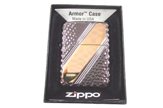Zippo xuat nhat dong den Armor Cross Cut 2 ntz518 4