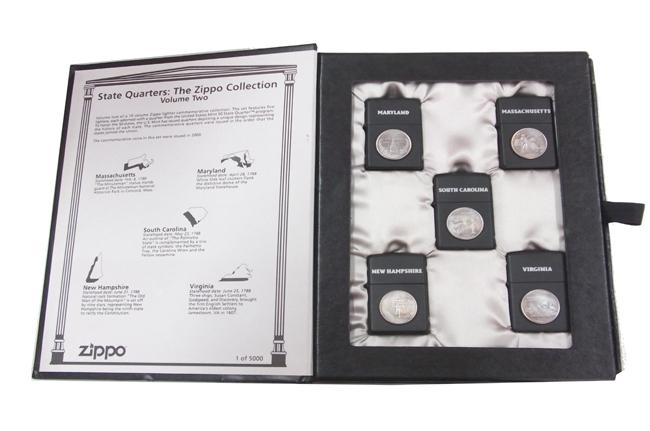 Zippo State Quarters: The zippo Collection Vol 2 ntz521