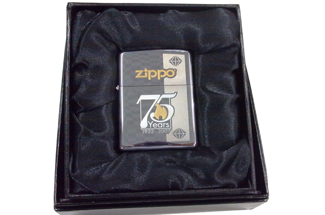 Zippo 75th commemorative edition ntz608
