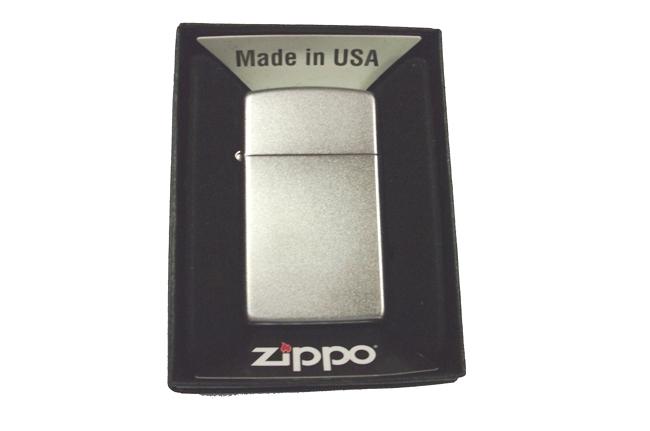 Hop quet Zippo mini satin ntz920