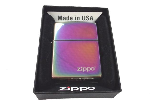 Zippo 7 mau logo ntz353