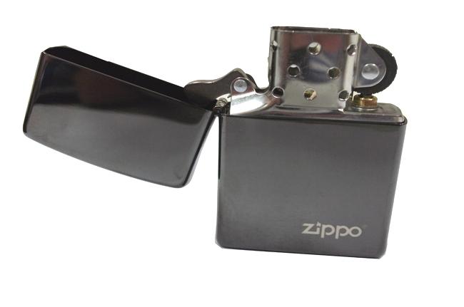 Hop quet Zippo den bong Ebony logo ntz910 4