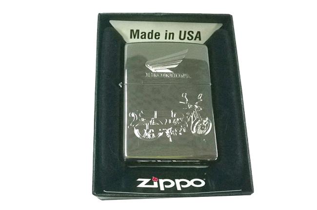 Bat lua zippo usa bong khac sieu sau 3d 1 mat hinh Honda NTZ210