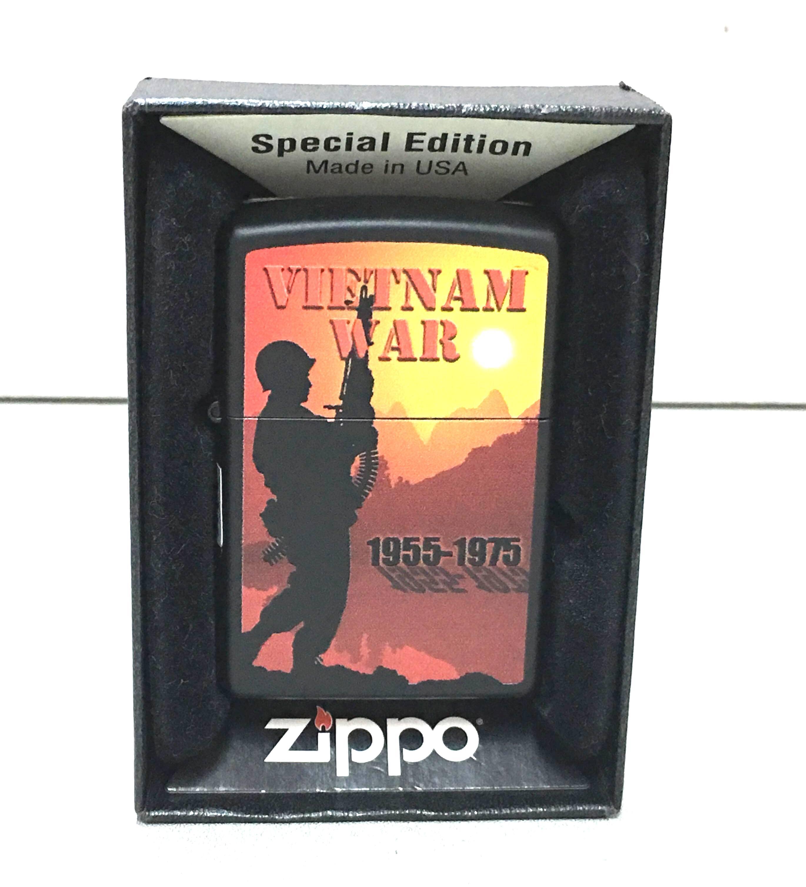 Zippo VietNam War 2016 hinh VietNam War 1955 - 1975 ntz219