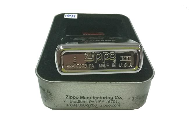 Zippo Classic Iron hinh Motor Shovelhead doi XIII (1997) ntz222 2