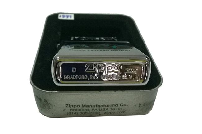 Zippo Classic Iron hinh Motor Panhead doi XIII (1997) ntz223 2
