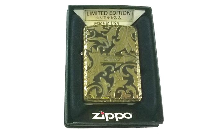 Zippo xuat Nhat Limited edition hoa van dong den noi ntz638