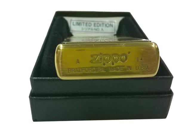 Zippo xuat Nhat Limited edition hoa van dong tia noi ntz640 3