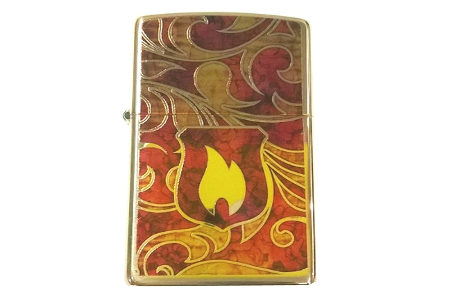 Bat lua zippo Shield son ngon lua  do NTZ016 4