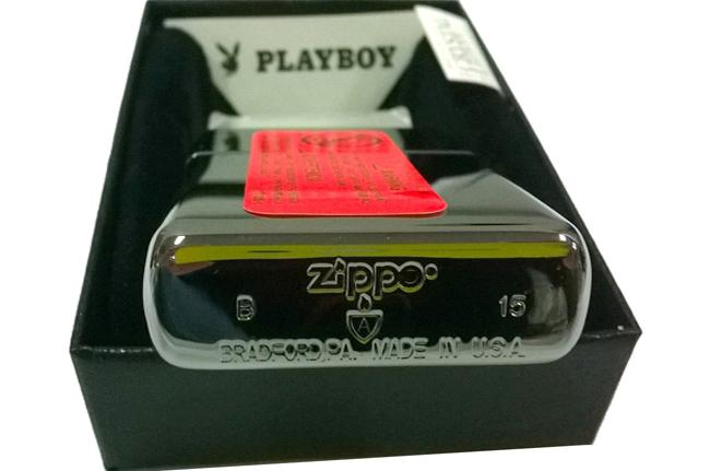 Bat lua zippo catolog armor Playboy NTZ053 3