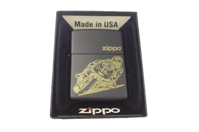 Hop quet Zippo catalog son den khac 3D hinh motor ntz141