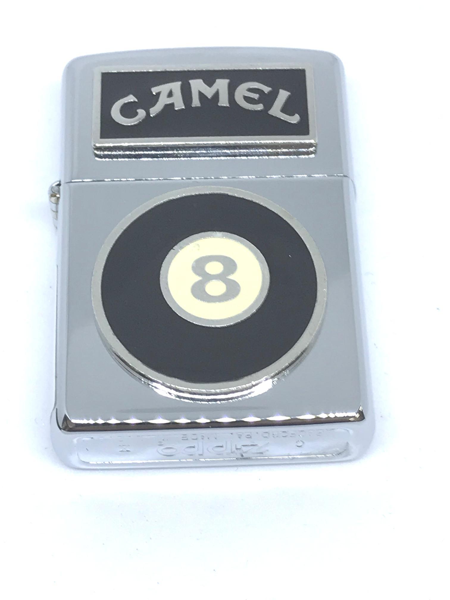 Zippo co Camel 8 Ball Emblem ntz118