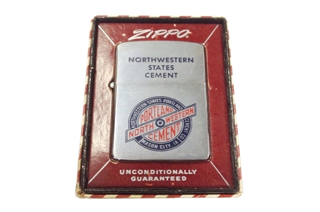 Bat lua zippo usa co nam 1957 North Western ntz332