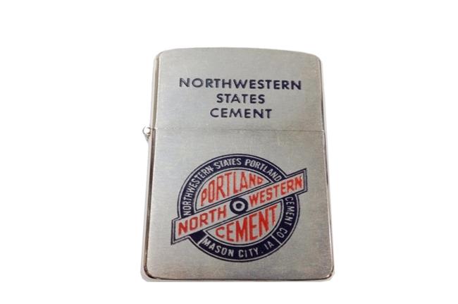 Bat lua zippo usa co nam 1957 North Western ntz332 2