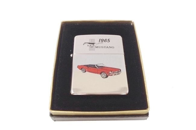 Zippo co son hinh car 1965 Mustang doi VII (1991) ntz362