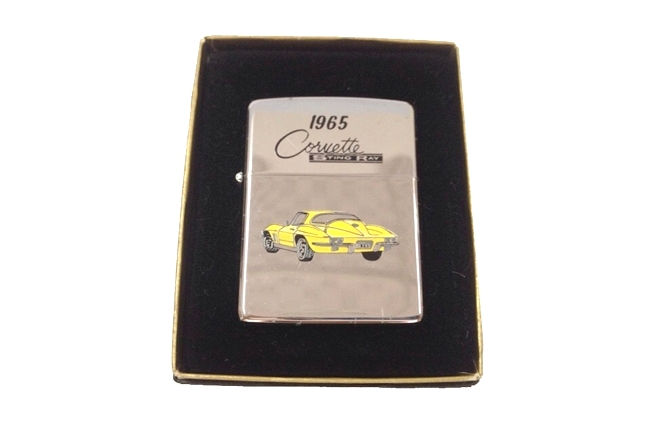 Zippo co son hinh car 1965 Corvette doi VII (1991) ntz363
