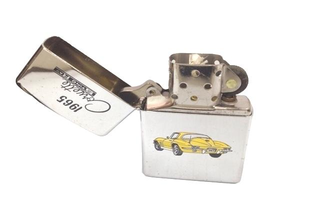 Zippo co son hinh car 1965 Corvette doi VII (1991) ntz363 2