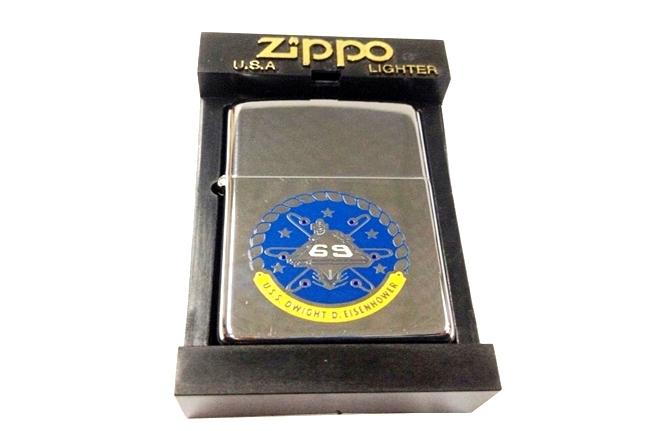 Zippo co son hinh USS Doi VI (1990) ntz365