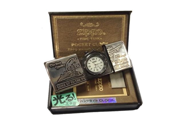 Zippo pocket clock dong ho bo tui ntz430 4