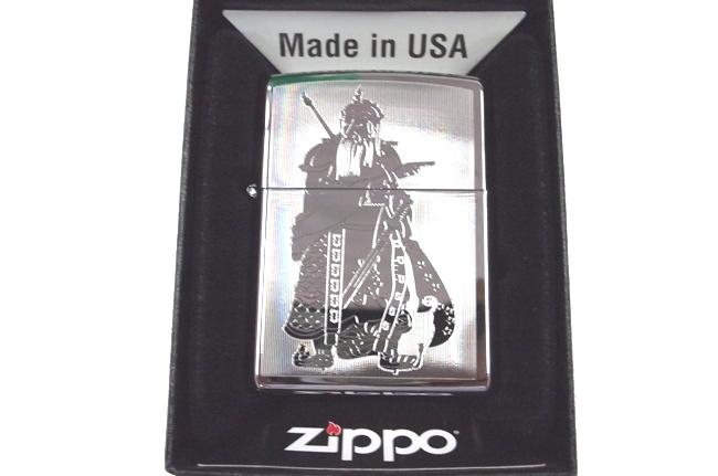 Zippo  khac lazer 1 mat hinh Quan cong ntz023