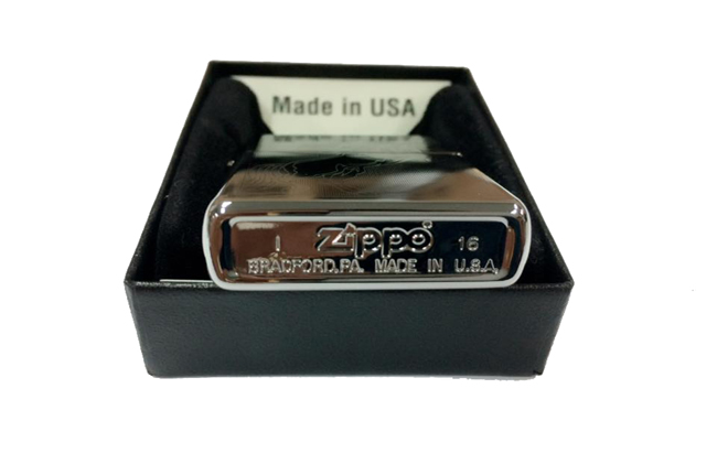 Zippo slim khac lazer 1 mat hinh  75 nam ntz458 2