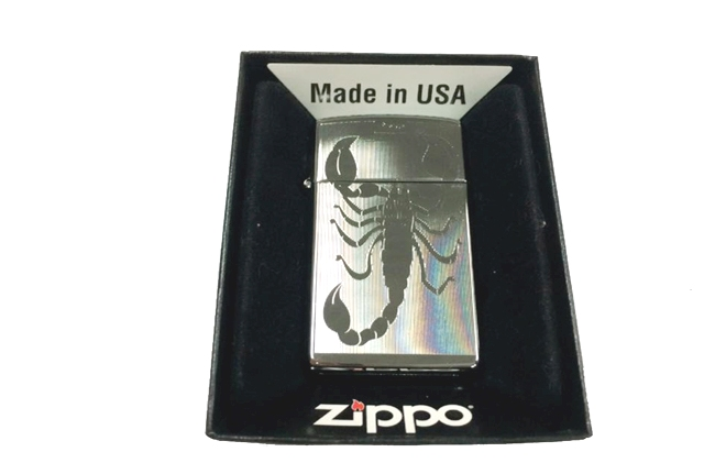 Zippo slim khac lazer 1 mat hinh bo cap ntz459