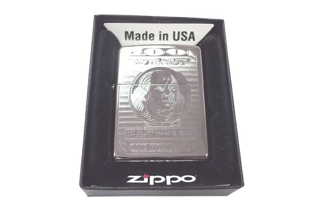 Zippo khac lazer 2 mat hinh Dola NTZ015