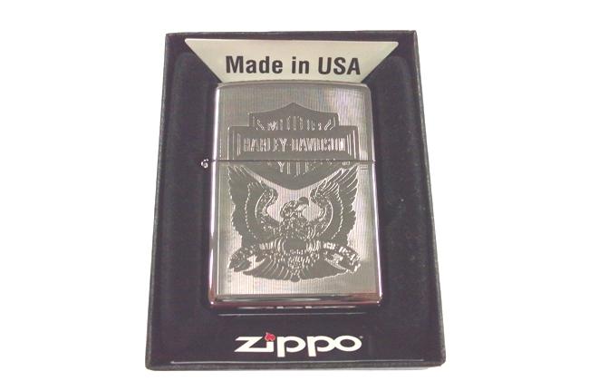 Zippo khac lazer 2 mat Harley Davidson ntz470