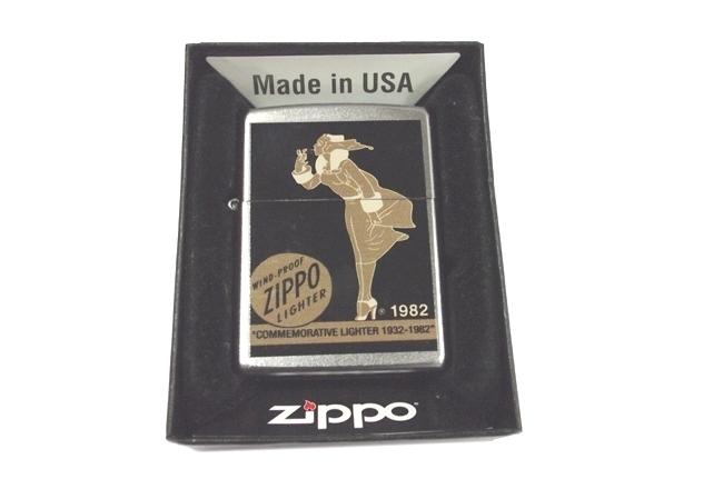 Zippo Vargas Windy girl 1982 ntz481