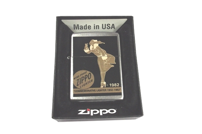 Zippo Vargas Windy girl 1982 ntz481 4