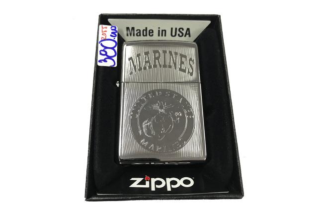 Zippo khac lazer 1 mat Marines ntz483