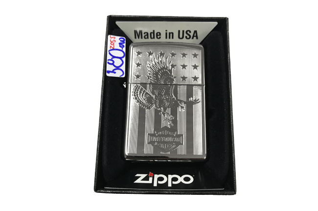 Zippo khac lazer 1 mat hinh dai bang ntz490