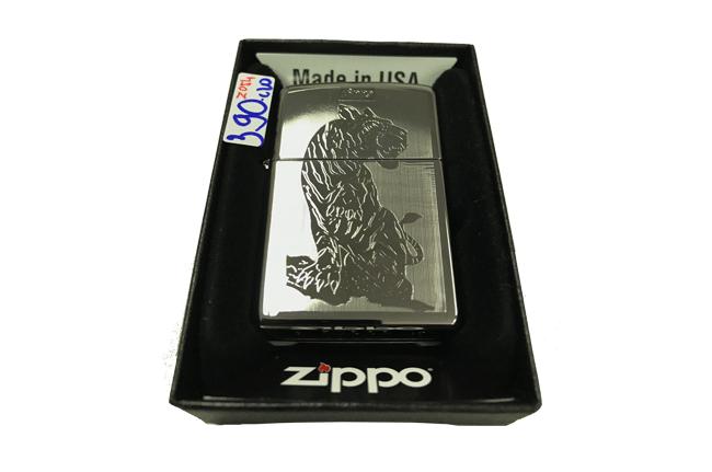 Zippo khac lazer 2 mat hinh ho ntz492