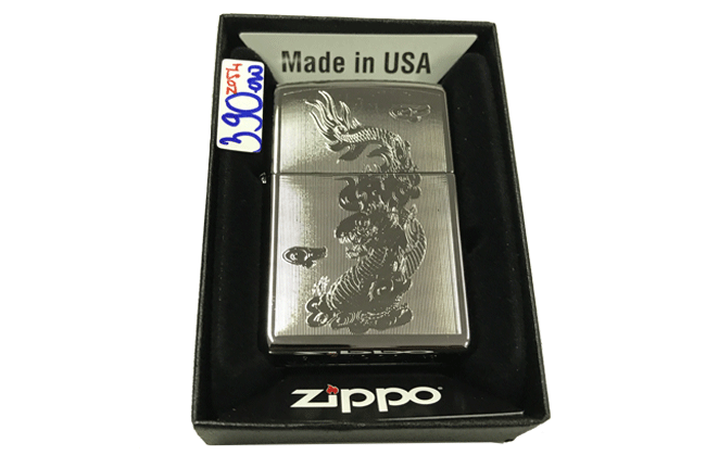Zippo khac lazer 2 mat hinh rong ntz500