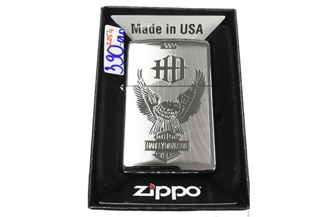 Zippo khac lazer 2 mat hinh harley ntz501