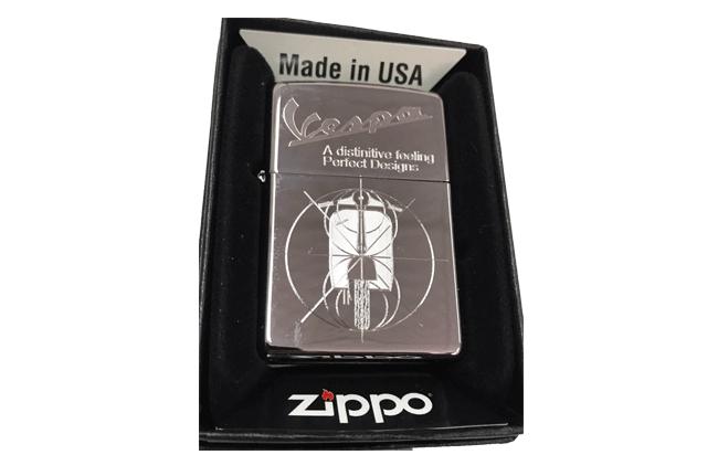 Bat lua zippo usa bong khac sieu sau 3d 1 mat hinh Vespa NTZ529