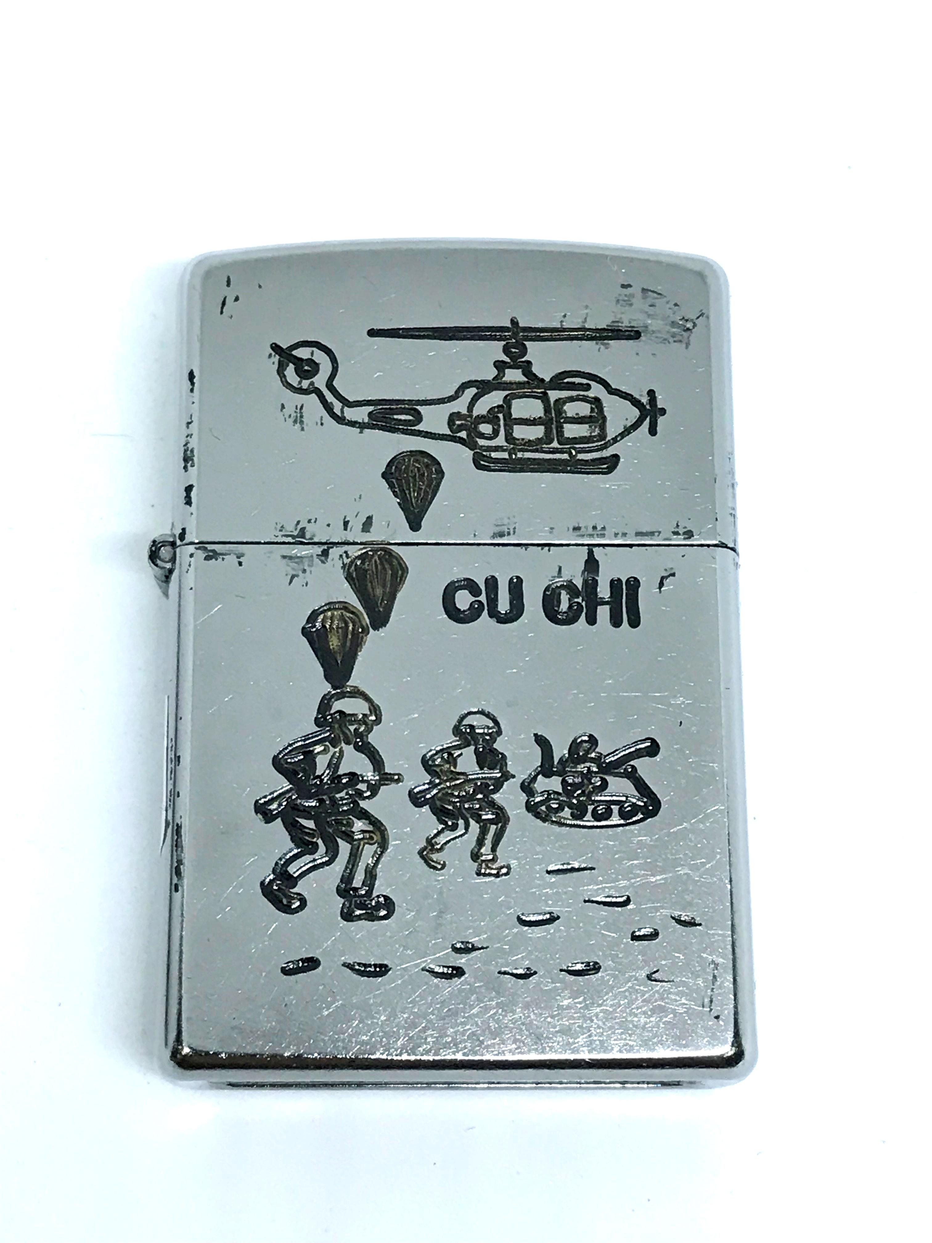 Zippo new khac 2 mat Vietnam War ntz561