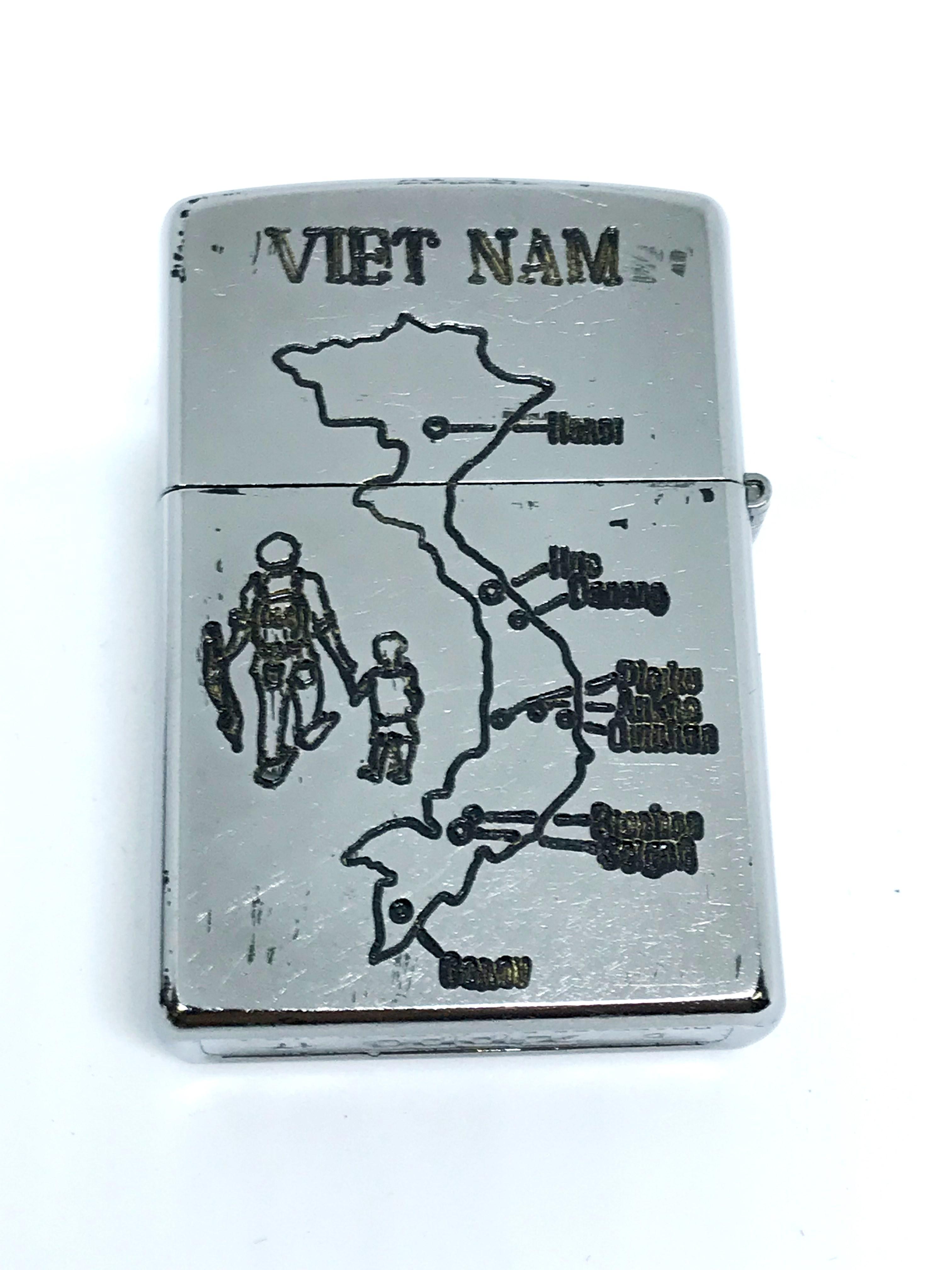 Zippo new khac 2 mat Vietnam War ntz561 2